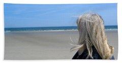 Contemplating The Stillness Beach Towel
