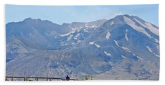 Contemplation - Mount St. Helens Beach Towel