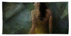 Conversance Conceptual Portrait Beach Towel