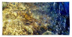 Cool Waters...of The Rifle River Beach Sheet by Daniel Thompson