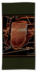 Beach Towel featuring the photograph Copper Works by Bobbee Rickard