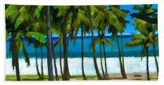 Coqueiros De Tiririca Beach Towel