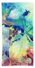Coral Reef Dreams 2 Beach Sheet