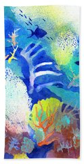Coral Reef Dreams 3 Beach Towel