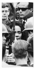Coretta King & Harry Belafonte Beach Towel