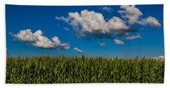 Corn Field Beach Towel