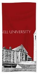 Cornell University - Dark Red Beach Towel