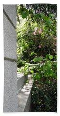 Corner Garden Beach Towel