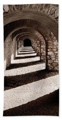 Corridors Of Stone Beach Towel