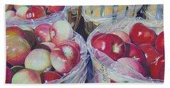 Cortland Apples Beach Sheet