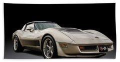 Corvette C3 Beach Towel