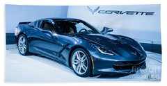 Corvette Stingray Beach Towel