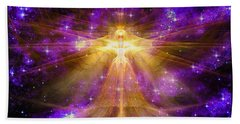 Cosmic Angel Beach Towel