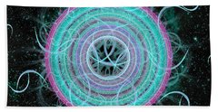 Cosmic Circle Beach Towel