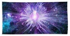 Cosmic Heart Of The Universe Beach Sheet