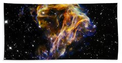 Cosmic Heart Beach Towel