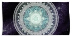 Cosmic Medallions Water Beach Sheet