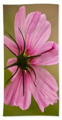 Cosmos In Pink Beach Towel