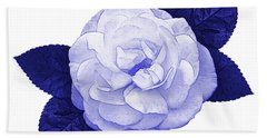 Beach Towel featuring the photograph Cottage Rose by Jane McIlroy