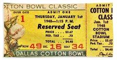 Cotton Bowl 1948 Beach Towel