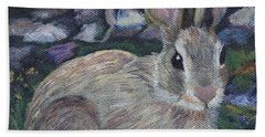 Cottontail Beach Towel