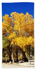 Cottonwood Autumn Beach Towel