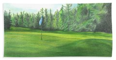 Country Club Beach Towel by Troy Levesque