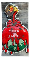 Cover The Earth Beach Towel