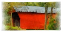 Covered Bridge - Sinking Creek Beach Towel