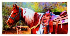 Cowgirl Up Beach Towel