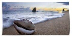 Cowrie Sunrise Beach Towel