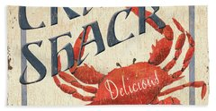 Crab Shack Beach Towel