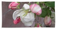 Crabapple Blossoms Miniature Beach Towel