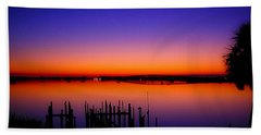Crack Of Dawn Beach Towel by Shannon Harrington