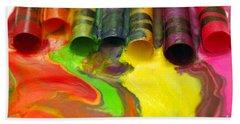 Crayon Cooperation Beach Sheet