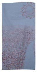 Crazy Quilt Star Gown Beach Towel