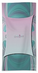 Cream Mint Mediterran Beach Towel