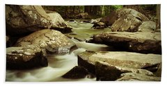 Creek At St. Peters Beach Towel
