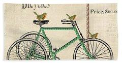 Cresent Bicycles Beach Towel