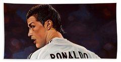 Cristiano Ronaldo Beach Sheet