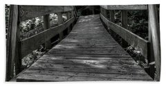 Crooked Bridge Beach Towel