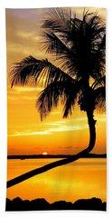 Crooked Palm Beach Sheet by Karen Wiles