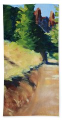Crooked River Trail Beach Towel