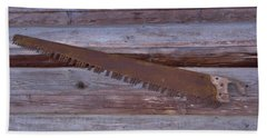 Crosscut Saw Beach Sheet by D Hackett