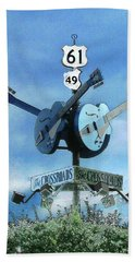 Crossroads In Clarksdale Beach Towel