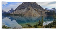 Crowfoot Mountain Banff Np Beach Towel