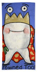 Crowned Tooth Beach Towel