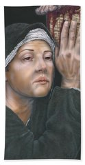 Crucifixion- Mothers Pain Beach Towel