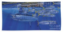 Crystal Blue Off00100 Beach Towel