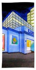 Csm Mall Beach Sheet by Cyril Maza
